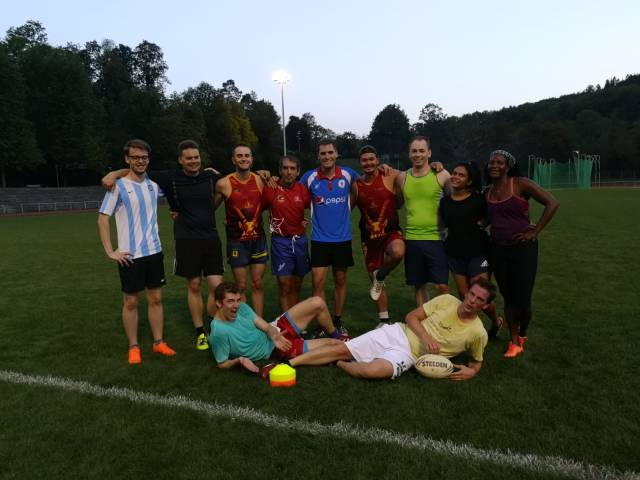 Touch Rugby Training bei den Baden Banditos